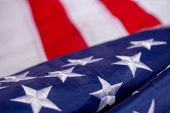 Golvende Amerikaanse Vlag royalty-vrije stock fotografie