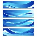 Golvende Banner Stock Foto's