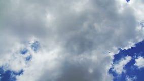 Golvende Bewolkte Hemel tijd-Tijdspanne stock video