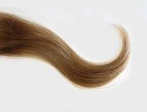 golvende bundel van blondehaar stock foto
