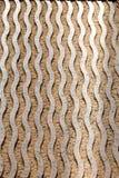 Golvende gebogen steengravure Royalty-vrije Stock Fotografie