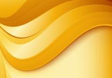 Golvende gouden achtergrond Royalty-vrije Stock Fotografie