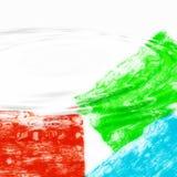 Golvende kleurenachtergrond   Stock Afbeeldingen