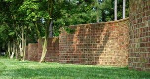 Golvende Muur Stock Fotografie