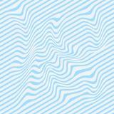 Golvende strepenachtergrond Vector illustratie Streeppatroon Eps 10 stock illustratie