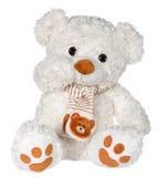Golvende teddybeer Stock Foto's