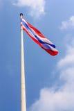 Golvende Thaise vlag Royalty-vrije Stock Fotografie