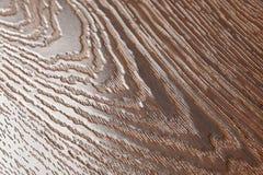 Golvet av den bruna laminaten Bakgrund Royaltyfri Foto