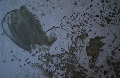 Golvjordtextur med cementljus - lilor färgar Fotografering för Bildbyråer