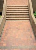 Golvtegelplatta för trappa Fotografering för Bildbyråer