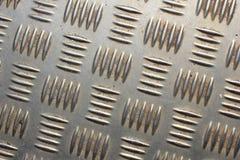Golvtextur från metall Arkivfoton