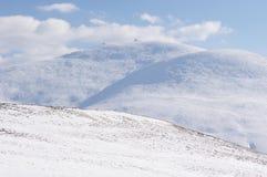 Golyam Kademlia peak in Winter, Bulgaria Royalty Free Stock Photos