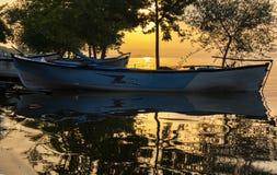 Golyazi湖 免版税图库摄影