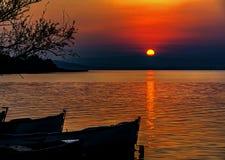 Golyazi lake Royalty Free Stock Image