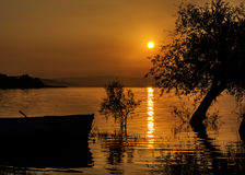 Golyazi lake Royalty Free Stock Photos