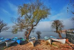 Golyazi sjö Fotografering för Bildbyråer
