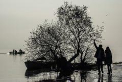 Golyazi sjö arkivfoto