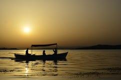 Golyazi sjö royaltyfria foton