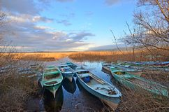 Golyazi sjö royaltyfri bild