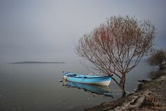 Golyazi sjö Royaltyfria Bilder