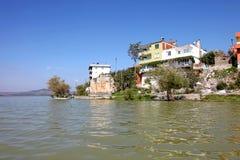Golyazi Village and Uluabat Lake Stock Photo