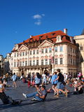 Golz-Kinsky palace, Prague, Czech Republic Stock Image