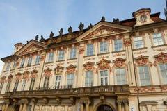 Golz-Kinskypalast-National Gallery in Prag Stockbilder