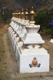 Gom Kora Trashigang, Bhutan arkivfoton