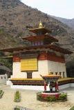 Gom Kora Trashigang, Bhutan royaltyfri foto