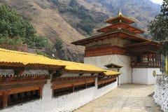 Gom Kora Trashigang, Bhutan Royaltyfria Bilder