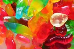 Goma colorida da geleia Fotos de Stock Royalty Free