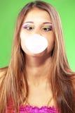 Goma de bolha Fotografia de Stock