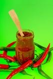 Goma de la pimienta caliente Imagen de archivo