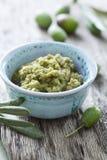 Goma verde oliva Foto de archivo