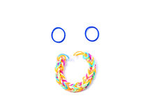 Gomas coloridas Fotografía de archivo libre de regalías