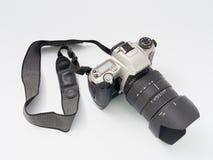 GOMEL, ΛΕΥΚΟΡΩΣΊΑ - 11 ΔΕΚΕΜΒΡΊΟΥ 2018: Κάμερα της MZ 6 Pentax στο άσπρο υπόβαθρο στοκ φωτογραφία