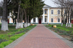 GOMEL, БЕЛАРУСЬ - 8-ое апреля 2017: Усадьба Rudievsky в деревне Peredelka Дата конструкции начало  стоковые изображения rf
