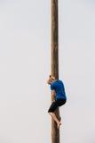 GOMEL, БЕЛАРУСЬ - 21-ое февраля 2014: Молодая женщина Стоковое Изображение RF