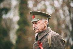 Gomel, Беларусь Торжество на столетие от Revolutio -го октября стоковая фотография