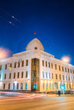Gomel, Belarus. Building Of Gomel City Executive Committee At Intersection Of Sovetskaya Royalty Free Stock Image