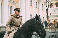 Gomel, Belarus Célébration pour le siècle d'octobre Revolutio Photo stock