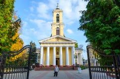 Gomel, Belarus Cathédrale de Peter et de Paul Images libres de droits