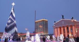 Gomel, Belarus E An neuf banque de vidéos