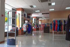 Gomel, Belarus - June 3, 2015: Company Store-Branch 1 of the 8th March street 15 wins, Royalty Free Stock Images