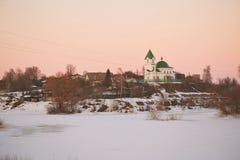 GOMEL, Belarus - 24 mars 2018 : Église de Saint-Nicolas le Wonderworker Photo stock