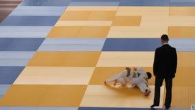 GOMEL, BELARUS - 23 mars 2019 : II tournoi international de Pride Cup dans le judo clips vidéos