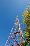 GOMEL, BELARUS - May 14, 2017: TV tower in the city of Gomel. Royalty Free Stock Photography