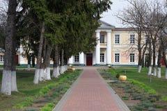 GOMEL, BIAŁORUŚ - 8 2017 Kwiecień: Rezydencja ziemska dom Rudievsky w wiosce Peredelka Data budowa jest początkiem Obraz Royalty Free