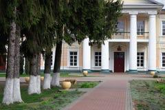 GOMEL, BIAŁORUŚ - 8 2017 Kwiecień: Rezydencja ziemska dom Rudievsky w wiosce Peredelka Data budowa jest początkiem Zdjęcia Royalty Free