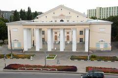 Gomel, Bielorrússia, o 12 de agosto de 2009: A casa da cultura na rua Efremova Imagem de Stock